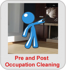 pre and post occupation cleaning