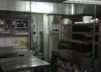 Retaurant Cleaning - Kitchen