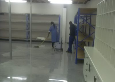 Business Cleaning - Factory floor